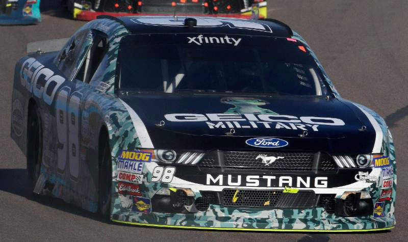 No. 98 GEICO Military Ford Mustang
