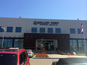Ballast Point Brewing Company, the primary sponsor of the No. 98 Ford Mustang