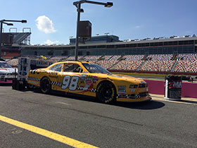 DRIVE FOR THE CURE 300 Presented by Blue Cross Blue Shield of North Carolina, Charlotte Motor Speedway, October 10, 2014